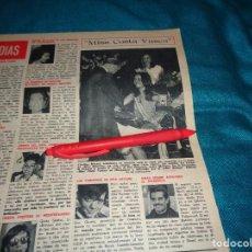 Coleccionismo de Revista Hola: RECORTE : MISS COSTA VASCA. HOLA, SPTIMBRE 1968(#). Lote 269817173