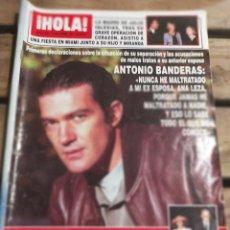 Coleccionismo de Revista Hola: HOLA Nº 2676 AÑO 1995. ANTONIO BANDERAS. MADRE Y JULIO IGLESIAS. PHILIPPE JUNOT. G. BORBON..Y MÁS. Lote 270663338