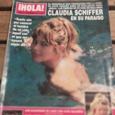 Coleccionismo de Revista Hola: HOLA Nº 2560 AÑO 1993. CLAUDIA SCHIFFER.- BODA KIM BASSINGER Y ALEC BALDWIN.ISABEL SARTORIUS.. Y MÁS. Lote 270881453