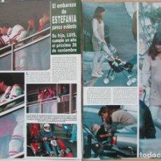 Coleccionismo de Revista Hola: RECORTE REVISTA HOLA Nº 2569 1993 ESTEFANÍA DE MÓNACO 2 PGS. CAROLINA DE MÓNACO 7 PGS. Lote 270887953