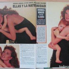 Coleccionismo de Revista Hola: RECORTE REVISTA HOLA Nº 2569 1993 VERÓNICA MENGOD, ESTHER ARROYO, EVA COBO, MAR FLORES. Lote 270888223