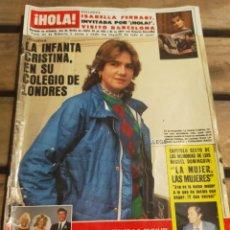 Coleccionismo de Revista Hola: HOLA Nº 2047 AÑO 1983. ISABELLA FERRARI. INFANTA CRISTINA. MIGUEL DOMINGUIN. BODA HIJA DE JR Y MÁS. Lote 270888443