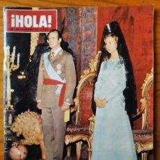Coleccionismo de Revista Hola: ¡HOLA! Nº 1632 DE 1975- CORONACION REYES DE ESPAÑA- LIZ TAYLOR- CARMEN SEVILLA- GRACE KELLY- SOFIA L. Lote 270909868