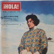 Coleccionismo de Revista Hola: HOLA. Nº 966. MARZO 1968. ANA MARIA DE DINAMARCA.MARIA JOSE DE ITALIA.SORAYA.C. SPAAK.MILVA.REVISTA. Lote 271043368