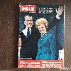Coleccionismo de Revista Hola: REVISTA HOLA, NÚMERO 1473, 18 NOVIEMBRE DE 1972, VICTORIA DE NIXON EN ELECCIONES USA. Lote 272481483