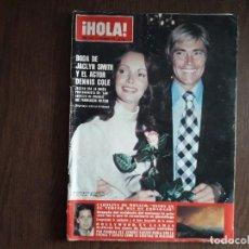 Coleccionismo de Revista Hola: REVISTA HOLA, NÚMERO 1785, 11 NOVIEMBRE DE 1978, BODA DE JACLYN SMITH Y EL ACTOR DENNIS COLE.. Lote 272481623
