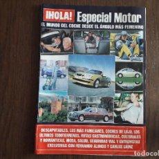Coleccionismo de Revista Hola: REVISTA HOLA, ESPECIAL MOTOR.. Lote 276091768