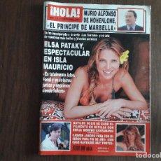 Coleccionismo de Revista Hola: REVISTA HOLA, NÚMERO 3101, 8 ENERO DE 2004. ELSA PATAKY ESPECTACULAR EN ISLA MAURICIO. Lote 276091878