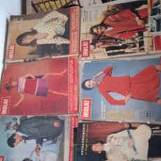 Coleccionismo de Revista Hola: 7 REVISTAS HOLA ,AÑOS 60.. Lote 276372378