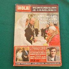 Coleccionismo de Revista Hola: REVISTA HOLA - Nº 3.170 (MAYO-2005) PAPA BENEDICTO XVI. Lote 276550293