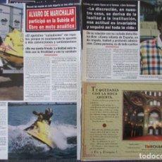 Coleccionismo de Revista Hola: RECORTE REVISTA HOLA N.º 2707 1996 ÁLVARO DE MARICHALAR. Lote 276559278