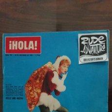Coleccionismo de Revista Hola: REVISTA HOLA Nº 957 AÑO 1962 - PERFECTO ESTADO. Lote 277035648