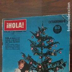 Coleccionismo de Revista Hola: REVISTA HOLA Nº 956 AÑO 1962 - ALGUNAS ROTURAS VER FOTOS. Lote 277036168