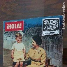 Coleccionismo de Revista Hola: REVISTA HOLA Nº 952 AÑO 1962 - PERFECTO ESTADO. Lote 277065813