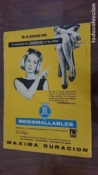Coleccionismo de Revista Hola: REVISTA HOLA Nº 948 AÑO 1962 - PERFECTO ESTADO - Foto 2 - 277066203