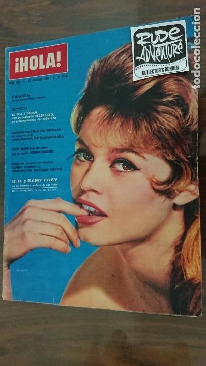 REVISTA HOLA Nº 948 AÑO 1962 - PERFECTO ESTADO (Coleccionismo - Revistas y Periódicos Modernos (a partir de 1.940) - Revista Hola)