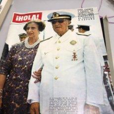 Coleccionismo de Revista Hola: ¡HOLA! REVISTA 1831 DE NOVIEMBRE 1975 LUTO NACIONAL EL CAUDILLO MUERTO. Lote 277155448