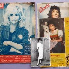 Coleccionismo de Revista Hola: ANTIGUA REVISTA HOLA Nª 907 ENRO 1962 REPORTAJE GINA LOLLOBRIGIDA + 9 IMAGENES DE LA ACTRIZ. Lote 277195403