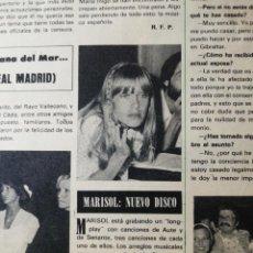 Coleccionismo de Revista Hola: MARISOL. Lote 277531043