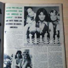 Coleccionismo de Revista Hola: ANGELES DE CHARLIE. Lote 277531448