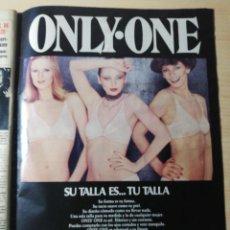 Coleccionismo de Revista Hola: ANUNCIO LENCERIA TRIUMPH. Lote 277531918