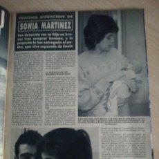 Coleccionismo de Revista Hola: SONIA MARTINEZ. Lote 277626018