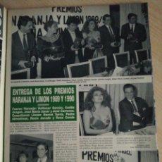 Coleccionismo de Revista Hola: ROCIO JURADO - LINA MORGAN - EMILIO ARAGON- ALMODOVAR. Lote 277626503