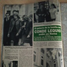 Coleccionismo de Revista Hola: ANA OBREGON. Lote 277626758