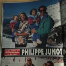 Coleccionismo de Revista Hola: PHILIPPE JUNOT. Lote 277628038