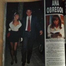 Coleccionismo de Revista Hola: ANA OBREGON. Lote 277628408