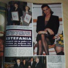 Coleccionismo de Revista Hola: ESTEFANIA. Lote 277628563