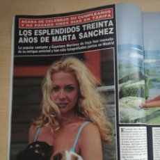 Colecionismo da Revista Hola: MARTA SANCHEZ. Lote 277758663
