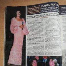 Coleccionismo de Revista Hola: ISABEL PANTOJA. Lote 277759313
