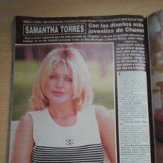 Coleccionismo de Revista Hola: SAMANTHA TORRES. Lote 277760468