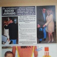 Coleccionismo de Revista Hola: ROCIO JURADO. Lote 277761728