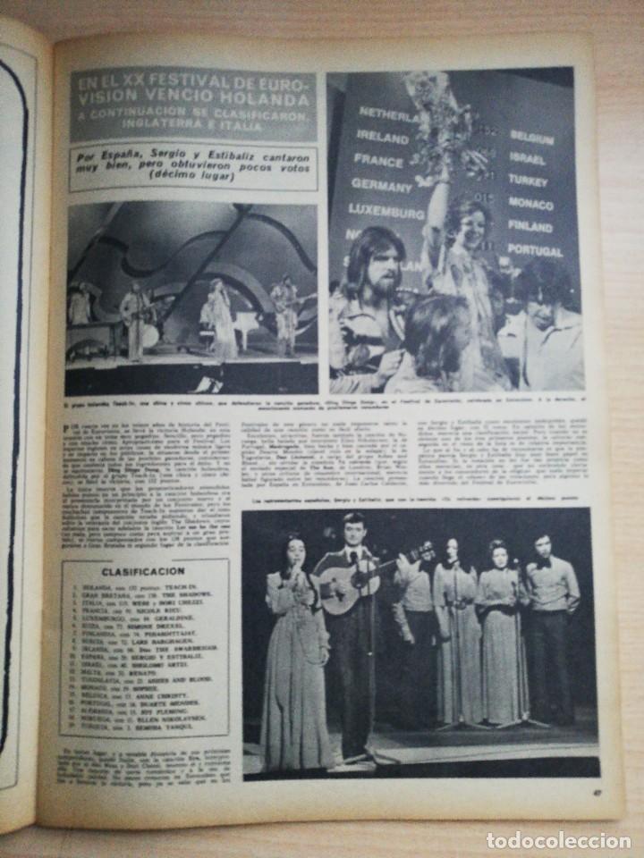 FESTIVAL EUROVISION 1975 (Coleccionismo - Revistas y Periódicos Modernos (a partir de 1.940) - Revista Hola)