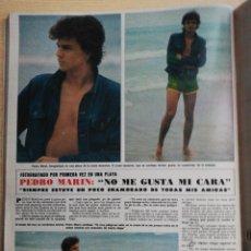 Coleccionismo de Revista Hola: PEDRO MARIN. Lote 278960738