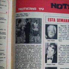 Coleccionismo de Revista Hola: UN, DOS, TRES.... Lote 278961738