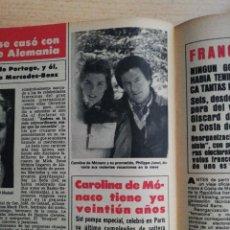 Coleccionismo de Revista Hola: CAROLINA DE MONACO. Lote 278961963