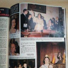 Coleccionismo de Revista Hola: FALLERAS 1978. Lote 278962143