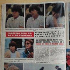 Coleccionismo de Revista Hola: CAROLINA DE MÒNACO - ESTEFANIA. Lote 278962608