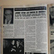 Coleccionismo de Revista Hola: MARIA CALLAS. Lote 278962748