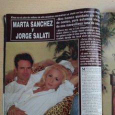 Coleccionismo de Revista Hola: MARTA SANCHEZ. Lote 278963448