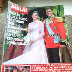 Coleccionismo de Revista Hola: REVISTA HOLA - Nº 3146 -- 18 DE NOVIEMBRE 2004 -- BODA DE LUIS ALFONSO DE BORBON --. Lote 279379803