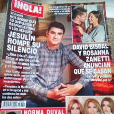 Coleccionismo de Revista Hola: REVISTA HOLA - Nº 3834 -- 24 ENERO 2018 -- JESULIN ROMPE SU SILENCIO --. Lote 279380283