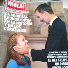 Coleccionismo de Revista Hola: REVISTA HOLA - Nº 3836 -- 7 DE FEBRERO 2018 -- LA PRINCESA LEONOR --. Lote 279383398