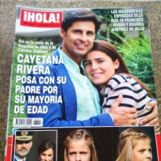 Coleccionismo de Revista Hola: REVISTA HOLA - Nº 3821 -- 25 DE OCTUBRE 2017 -- CAYETANA RIVERA MAYORIA DE EDAD --. Lote 279452273