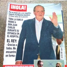 Coleccionismo de Revista Hola: REVISTA HOLA - Nº 3433 -- 19 DE MAYO 2010 -- TODA LA FAMILIA RODEO A JUAN CARLOS EN EL HOSPITAL --. Lote 279452533