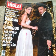 Coleccionismo de Revista Hola: REVISTA HOLA - Nº 3258 -- 10 DE ENERO 2007 -- PALOMA Y ENRIQUE --. Lote 279515748