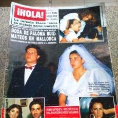 Coleccionismo de Revista Hola: REVISTA HOLA - Nº 2197 -- 30 DE SEPTIEMBRE 1996 -- BODA DE PALOMA RUIZ MATEOS --. Lote 279517423